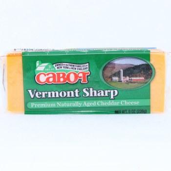 Cabot Vermont Sharp Cheddar Cheese  8oz.  8 oz