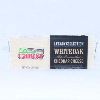Cabot White Oak Cheddar Cheese 6 oz