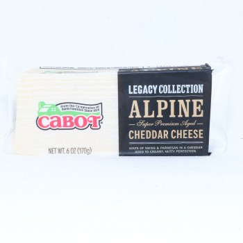 Cabot Alpine Cheddar Cheese 6 oz