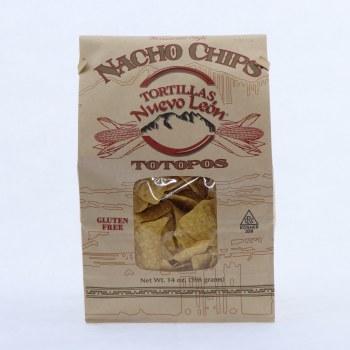Tortillas Nuevo Leon Totopos Gluten Free 14 oz