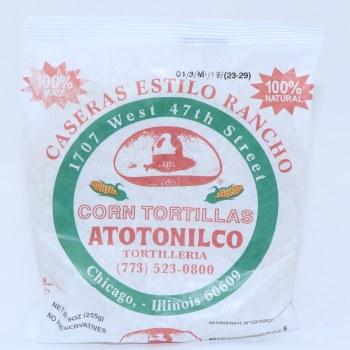 Atotonilco Corn Tortillas Caseras Estilo Rancho 9 oz  10 oz