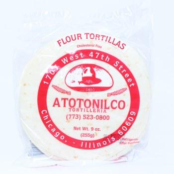 Atotonilco Four Tortillas Cholesterol Free 9 oz  9 oz