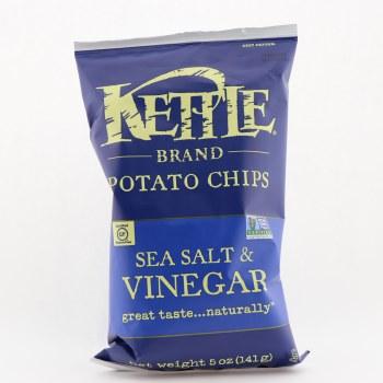 Kettle chips salt vinegar 5 oz