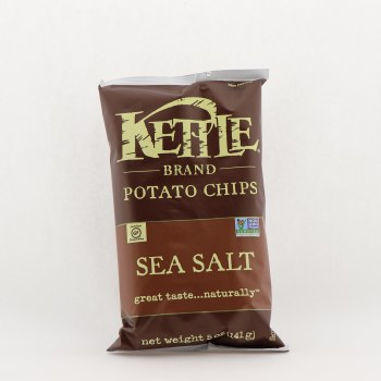 Kettle Sea Salt Potato Chips 5 oz