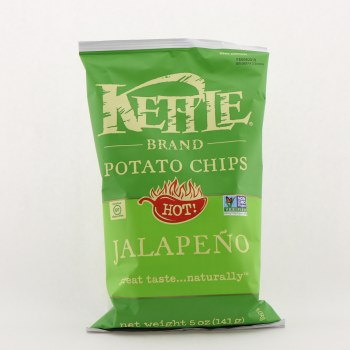Kettle Jalapeno Potato Chips 5 oz