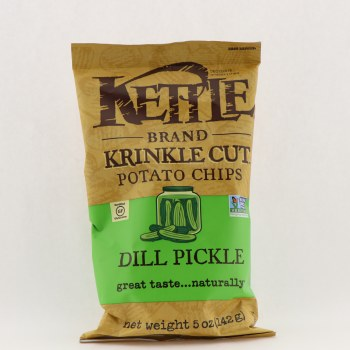 Kettle Chips Dill Pickle 5 oz