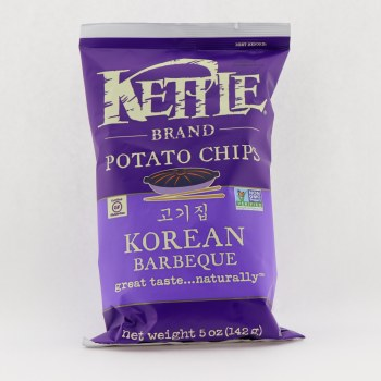 Kettle Korean Barbeque Potato Chips 5 oz