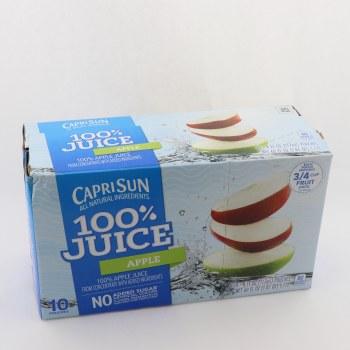 Capri Sun 100% Apple Juice  60 oz