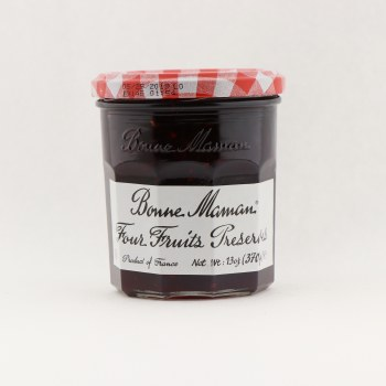 Bonne Maman 4 fruit preserves