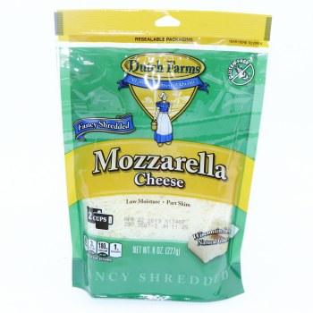 Dutch Farms Mozzarella Cheese, Gluten Free, 8 oz   8 oz