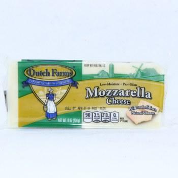 Dutch Farms Mozzarella Cheese 8oz 8 oz