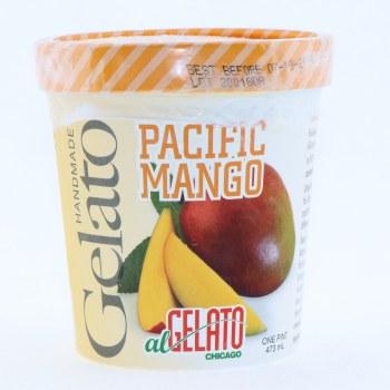 Handmade Pacific Mango Gelato  1 pint