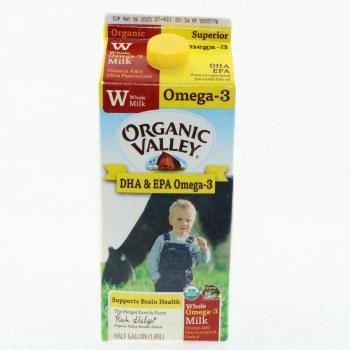 O.V Omega-3 Whole Milk
