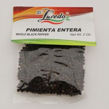 El Laredo Whole Black Pepper / Pimienta Entera 2 oz