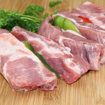 Pork Spare Ribs Great for Grilling or Try Oven Barbecued  1 lb