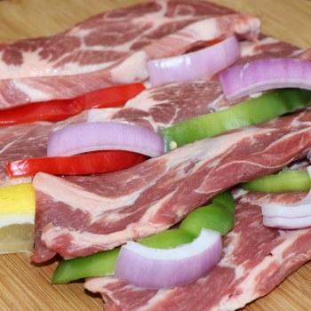 Pork Shoulder Chops Great for Grilling  1 lb
