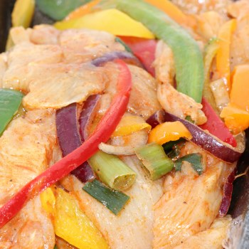 Chicken Fajitas, Seasoned, Ready to Cook and Enjoy  1 lb