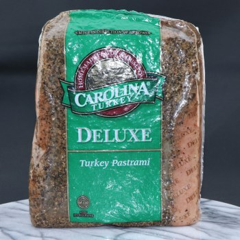 Carolina Deluxe Turkey Pastrami  1 lb