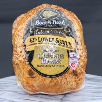 Boar's Head Golden Classic Chicken Breast, 42% Lower Sodium  1 lb