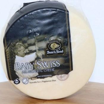Boars Head Baby Swiss Cheese 1 lb