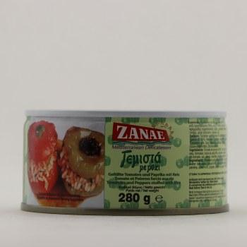 Zanae Stuffed Tomato & Pepper