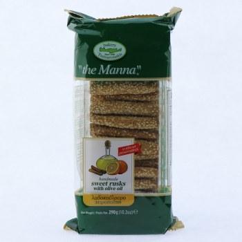 Manna Crete Olive Oil Biscuit