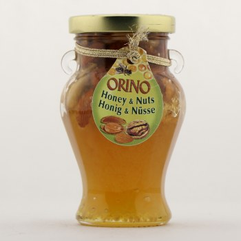 Orino Honey with Nuts  250 g