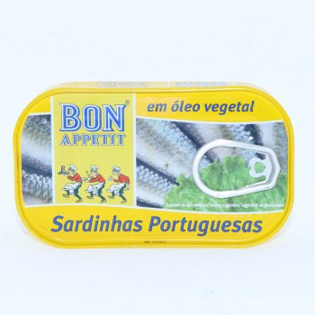 Bon Appetit Sardines in Vegetable Oil 4.23 oz