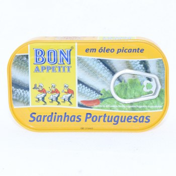 Bon Appetit Sardines in Hot Sauce 4.23 oz