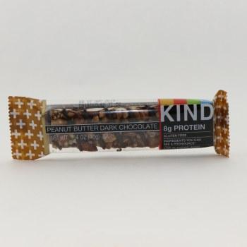 Kind 8g Protein Peanut Butter Dark Chocolate Bar, Gluten Free, Dairy Free, Low Sodium, No Engineered Ingredients 7 g