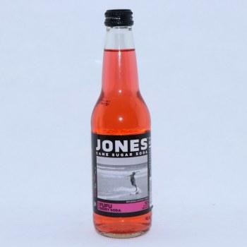 Jones Fufu Berry Cane Sugar Soda with Natural & Artificial Flavors, 12 FL. oz  12 fl