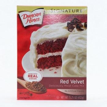Duncan Hines Red Velvet Cake Mix 15.25 oz