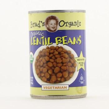 Brad's organic Lentil beans 15 oz