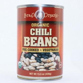 Brads organic Chili beans 15 oz