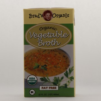 Brads Og Vegetable Broth