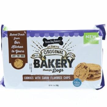 Three Dog Bakery Cookies Carob