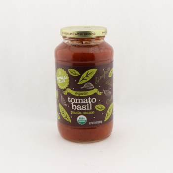 Natural Value tomato basil sauce