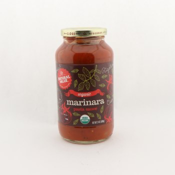 Natural Value org marinara sauce 24 oz