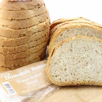 Damato's Bakery Wheat Italian Bread 16 oz