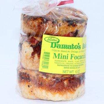 Damato's Bakery Mini Focaccia  10 oz