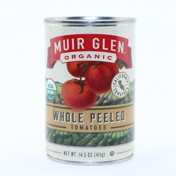 Muir Glen Organic Whole Peeled Tomatoes  14.5 oz