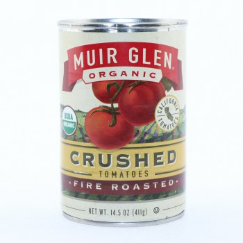 Muir Glen Organic Crushed Tomatoes, Fire Roasted  14.5 oz