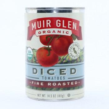 Muir Glen Organic Diced Tomatoes Fire Roasted  14.5 oz