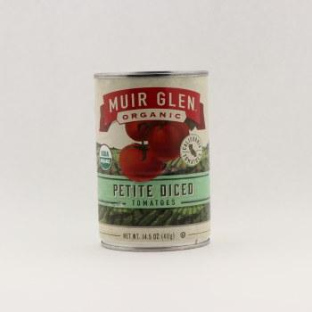 Muir Glen Petite Diced 14.5 oz