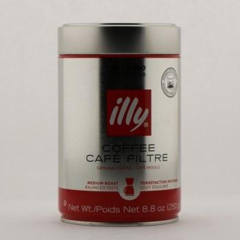 Illy Ground Coffee 8.8 oz