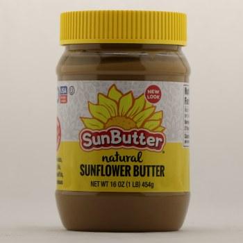 Sun Butter Natural Sunflower Butter 16 oz