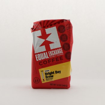 Equal Exchange Bright Day Brew Coffee 12 oz