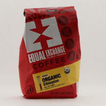 Equal Exchange Organic Ethiopian Coffee