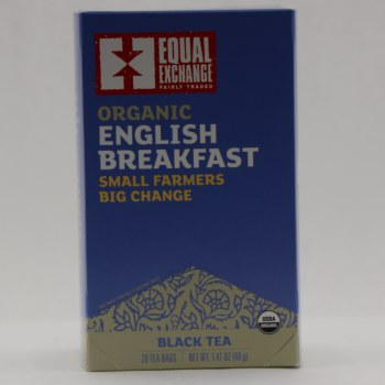 Equal Exchange Organic English Breakfast Tea  1.41 oz