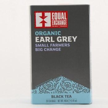 Equal Exchange Organic Earl Grey Black Tea 1.41 oz